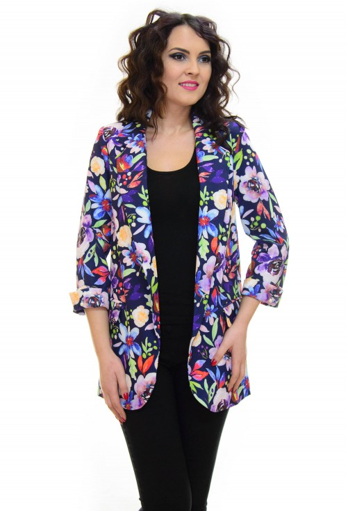 Blazer Lara Bella Interested DarkBlue
