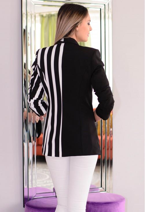 Sacou Demanding Stripes Black