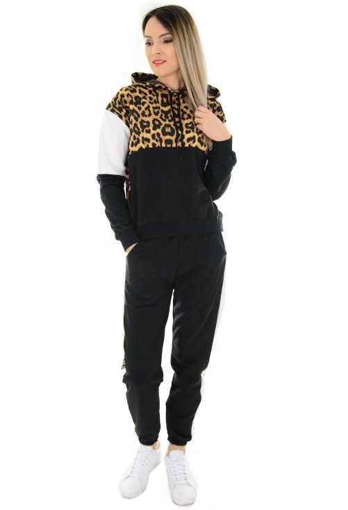 Trening Moon Night Animal Print