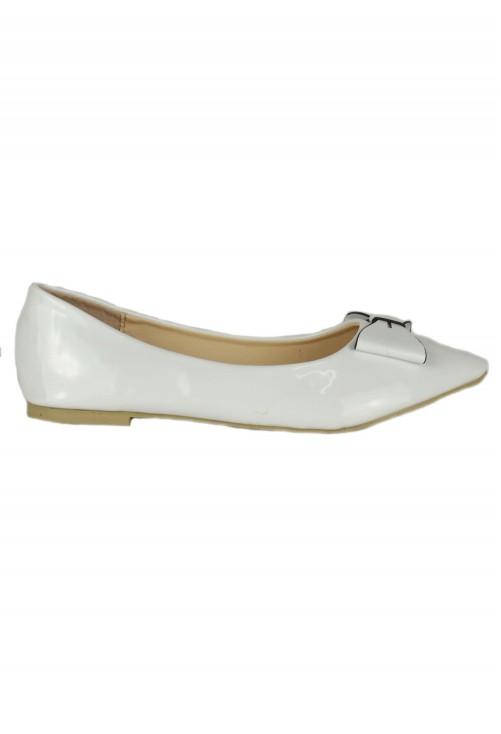 Balerini White Bow #1435
