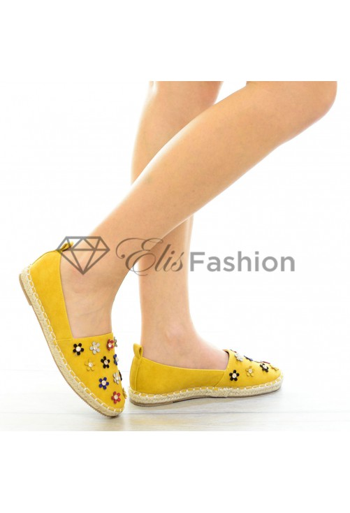 Espadrile Melted Yellow #4143
