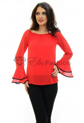 Bluza Wavy Nature Red