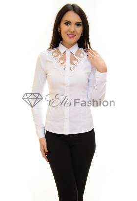 Camasa Functional Lace White