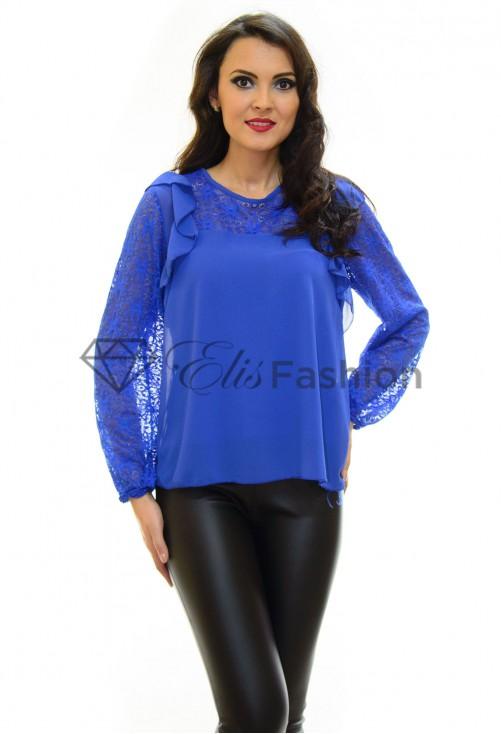 Bluza Lace Addict Blue