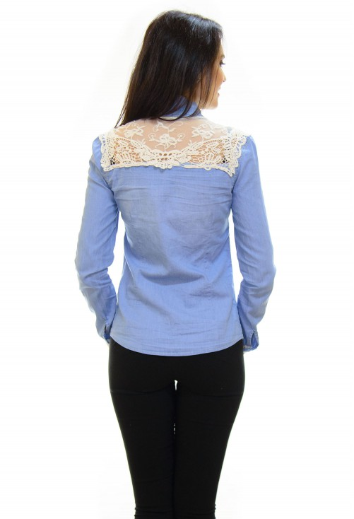 Camasa Better Lace On Jeans