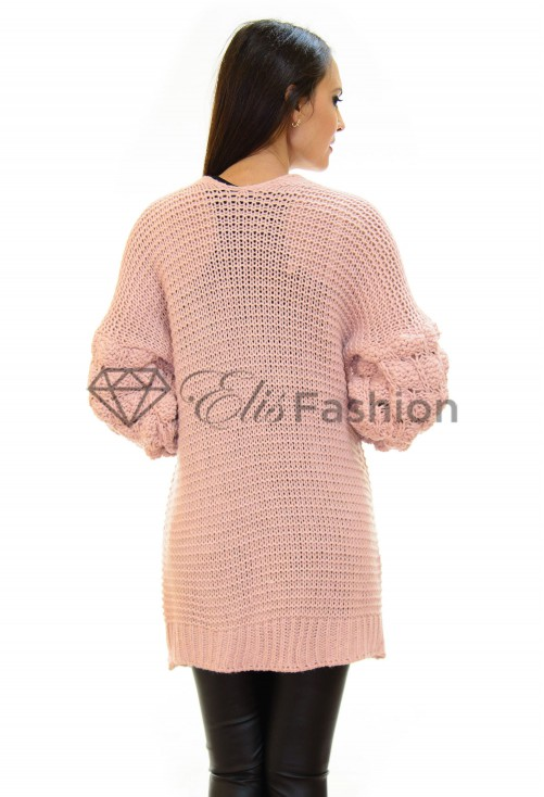 Cardigan Bubble Pink