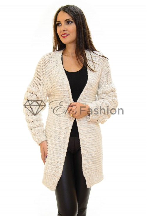 Cardigan Bubble Ivory