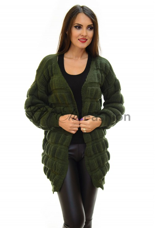 Cardigan All Up Olive