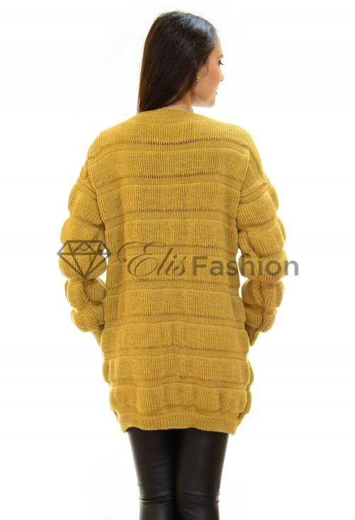 Cardigan All Up Mustard