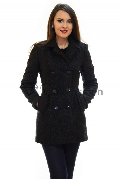 Palton Ella Collection Desire Test Black