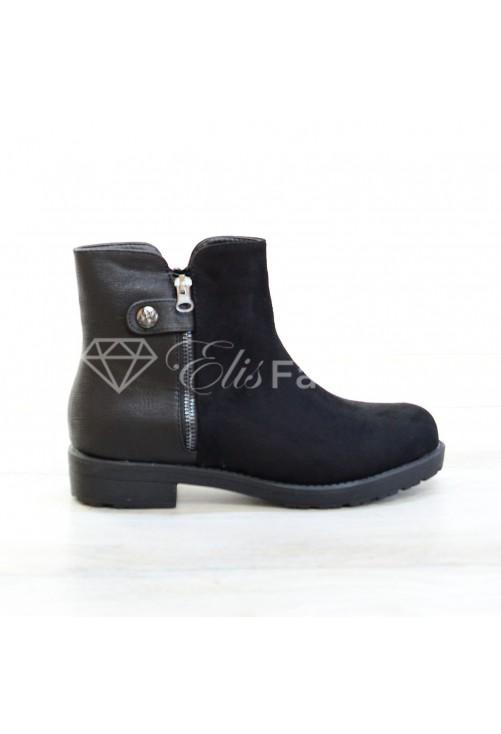 Ghete Zipper Black #2791