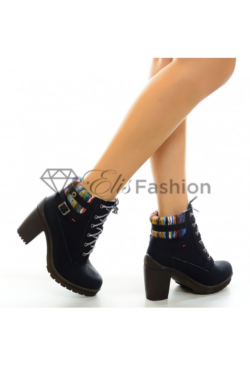Botine Black Winter #5322