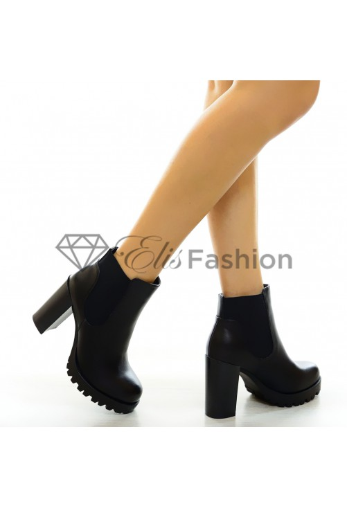 Botine Move Black #5552