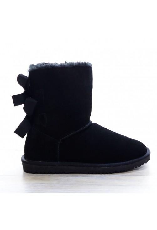 Cizme Thick Black #5815