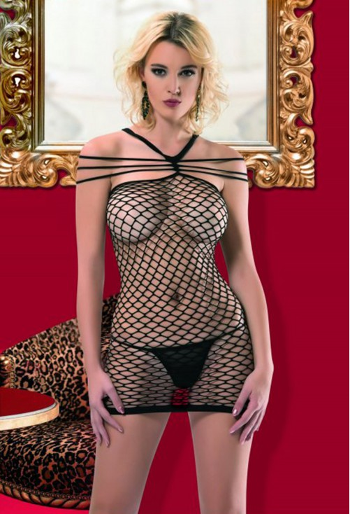Body Stocking Black #7219