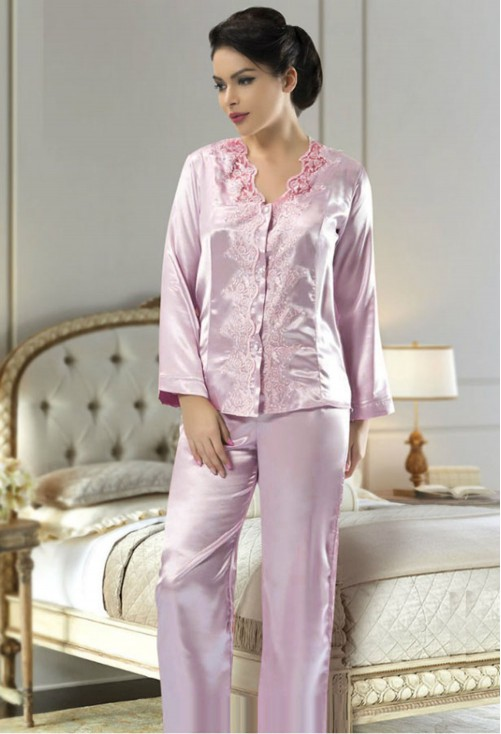 Pijama Silky Pink #7285