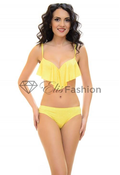 Costum de Baie Glottery Yellow
