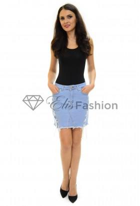 Fusta Jeans Affection Blue