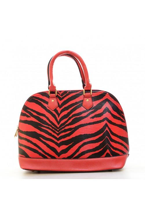 Geanta Zebra Red #3571