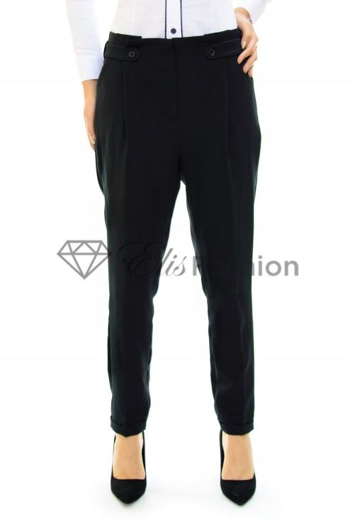 Pantaloni Elegant Effect Black