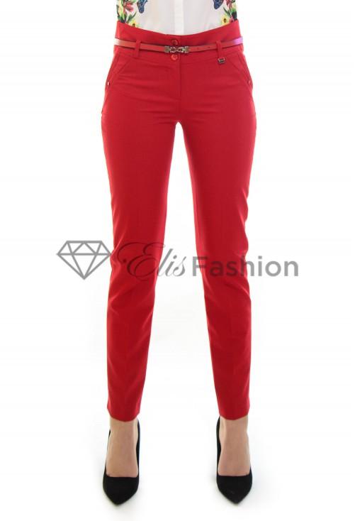 Pantaloni Styling Gesture Red