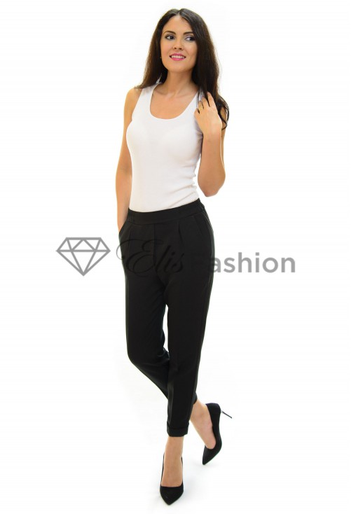 Pantaloni Trouble Black