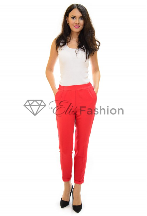 Pantaloni Trouble Red