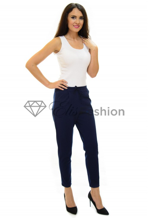 Pantaloni Back Mind DarkBlue