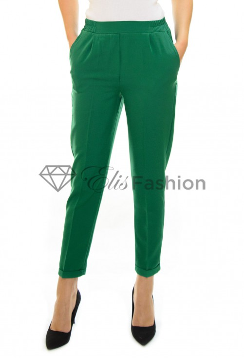 Pantaloni Trouble Green