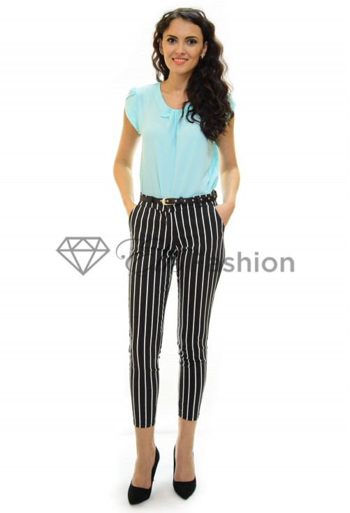 Pantaloni Line Option Black