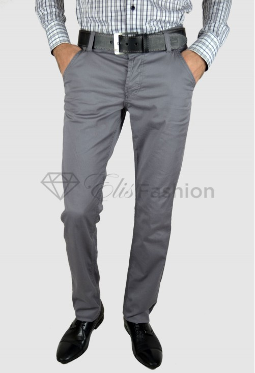 Pantaloni de Barbati Mousse Grey