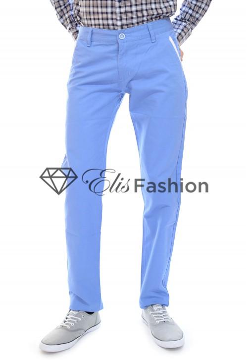 Pantaloni de Barbati Blue Man