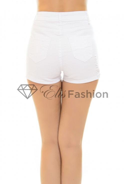 Pantaloni Scurti White Sensation