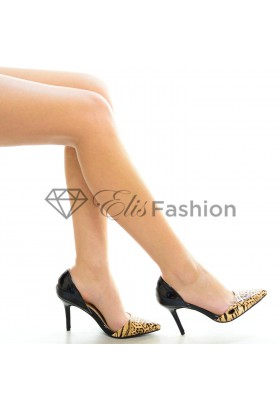 Pantofi Stiletto Animal Print #1746