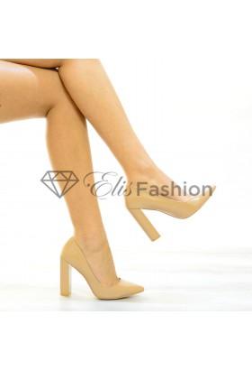 Pantofi Nude Class #3280
