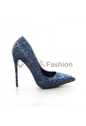 Pantofi 3D Effect Blue