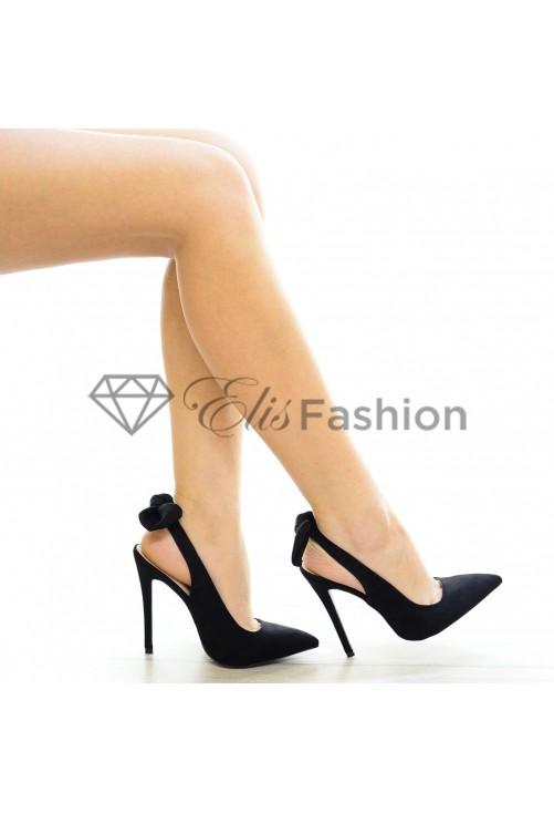 Pantofi Black Bow #4017