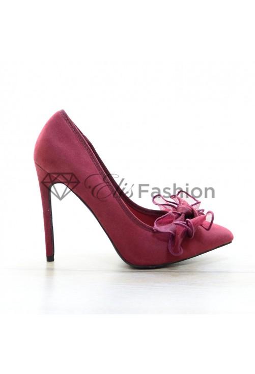 Pantofi Amazing Marsala #4055