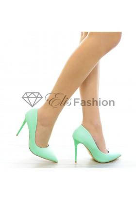 Pantofi Pastel Mint #4268