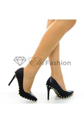Pantofi Designer Black #5284