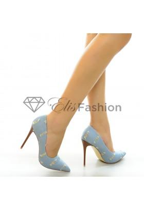 Pantofi Beauty Jeans #5285
