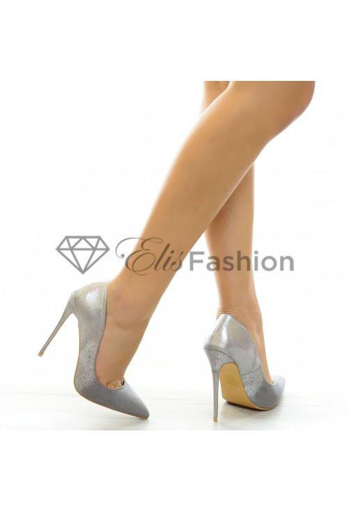 Pantofi Perfect Silver #6311