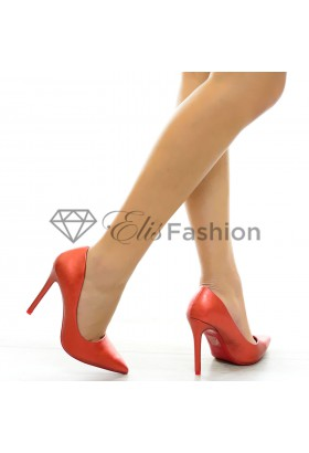 Pantofi Toned Red #6312