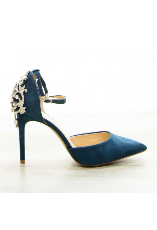Pantofi Emerald Queen #6848