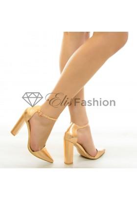 Pantofi Forever True Rose Gold #6849