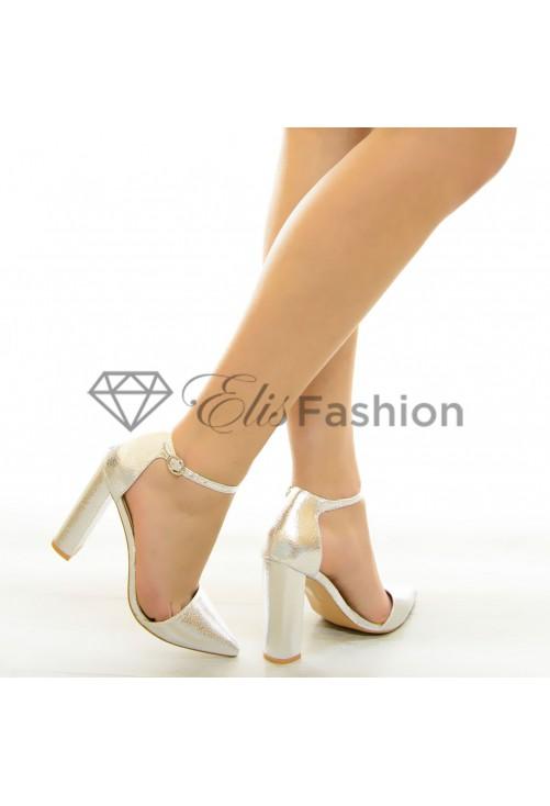 Pantofi Forever True Silver #6850