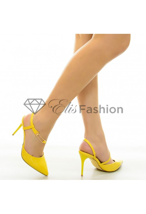 Pantofi Delight Yellow #7071
