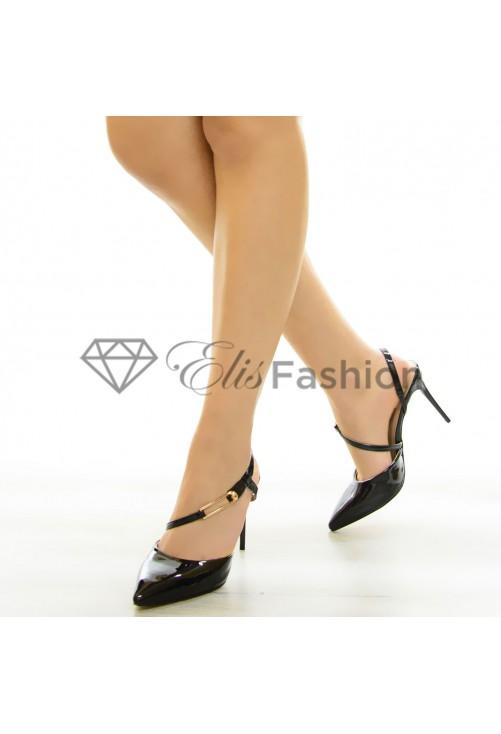 Pantofi Delight Black #7072