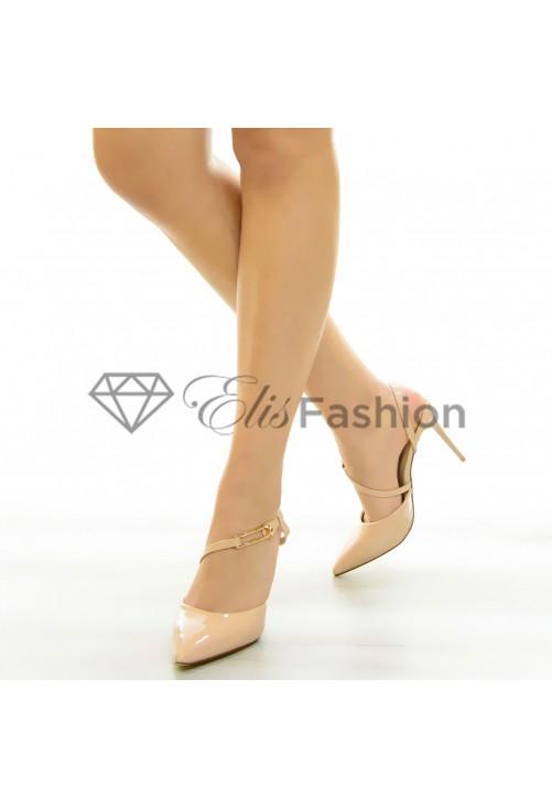 Pantofi Delight Beige #7073