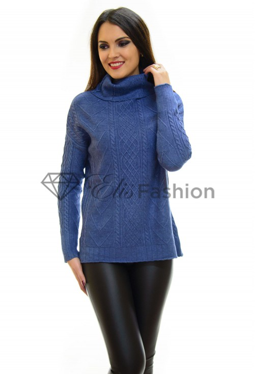 Pulover Knitt Perfect Blue
